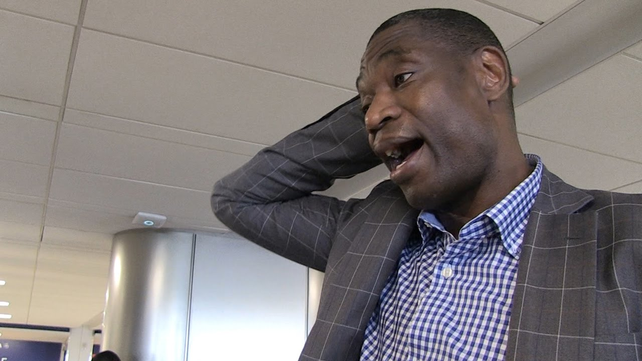 Dikembe Mutombo says he did not give Bismack Biyombo permission to finger wag