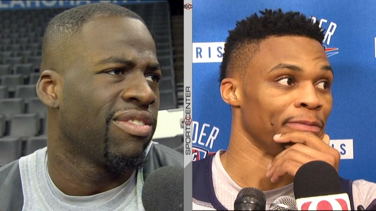 Draymond Green & Russell Westbrook have a war of words in the media