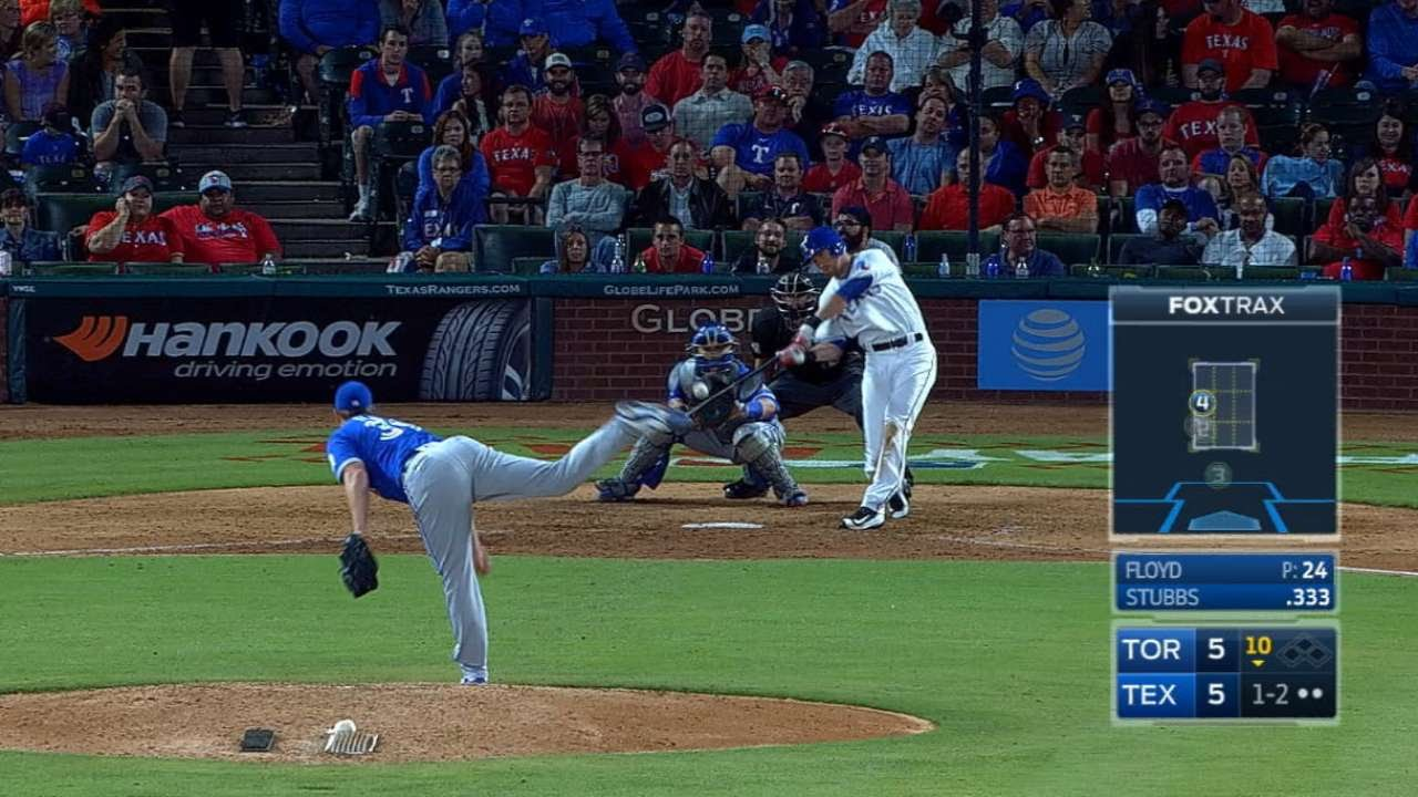 Drew Stubbs blasts a walk off home run in extra innings