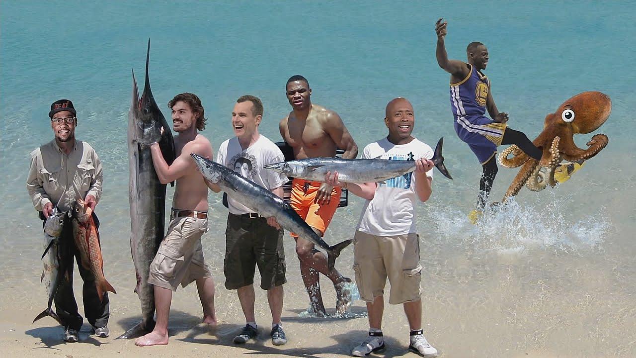 Inside The NBA sends the Oklahoma City Thunder fishing