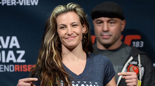 Miesha Tate talks Ronda Rousey with Joe Rogan
