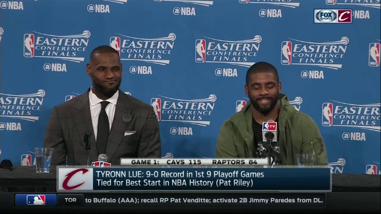 Kevin Love comapres LeBron & Kyrie to USC running backs