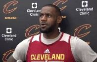 LeBron James admits he's been thinking about playing the Miami Heat