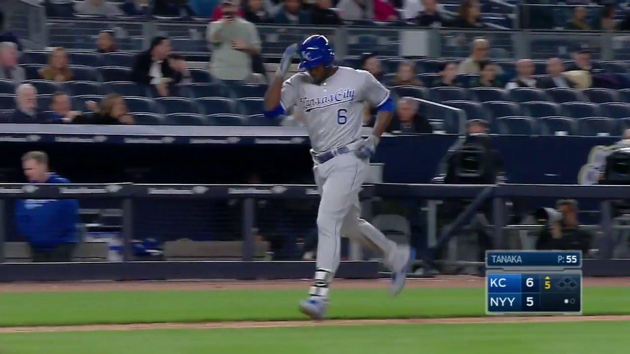 Lorenzo Cain smacks 3 homers in the Bronx