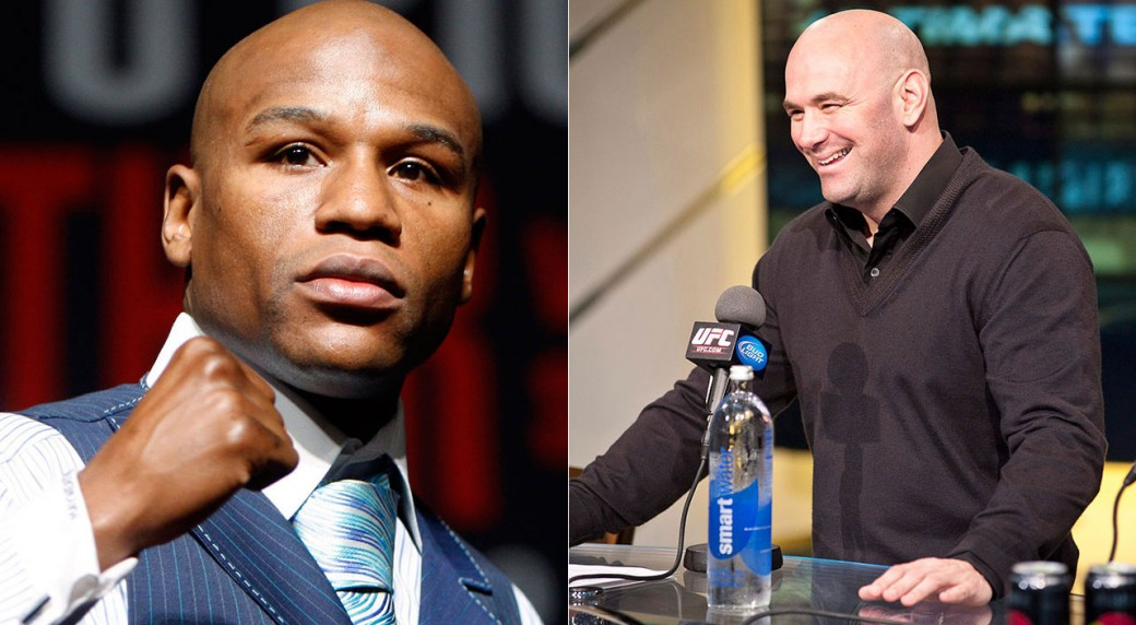 Dana White tells Floyd Mayweather to call him over fighting Conor McGregor