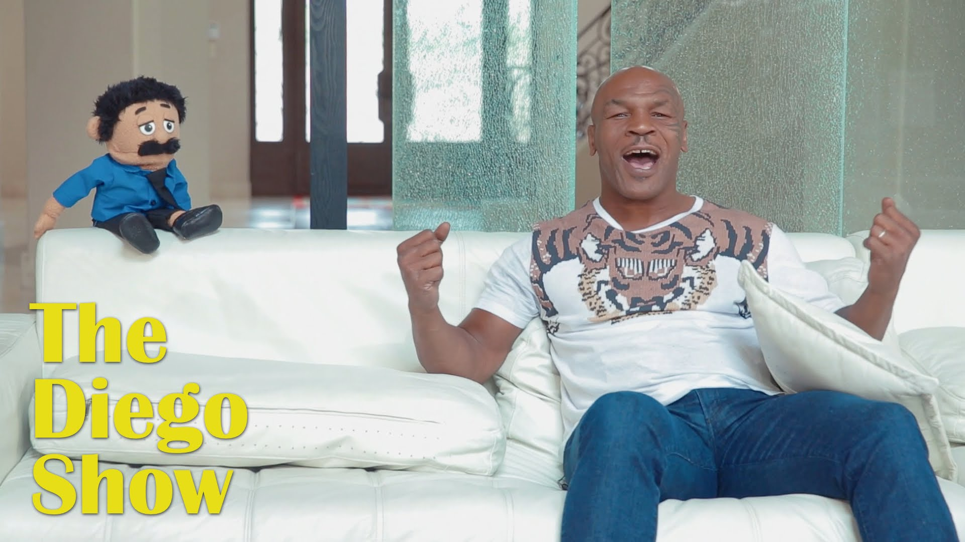 Mike Tyson's hilarious interview with Awkward Puppets