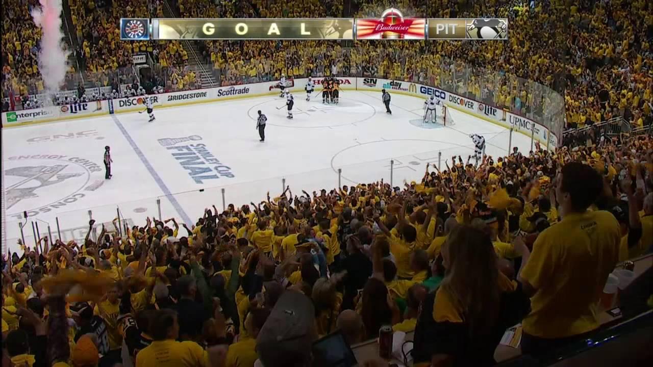 Nick Bonino roofs game winning goal for Penguins in Game 1