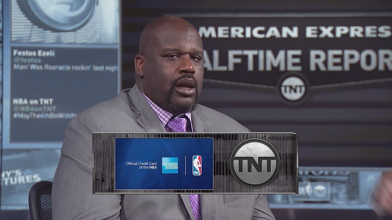 Shaq imitates Draymond Green's face freezing