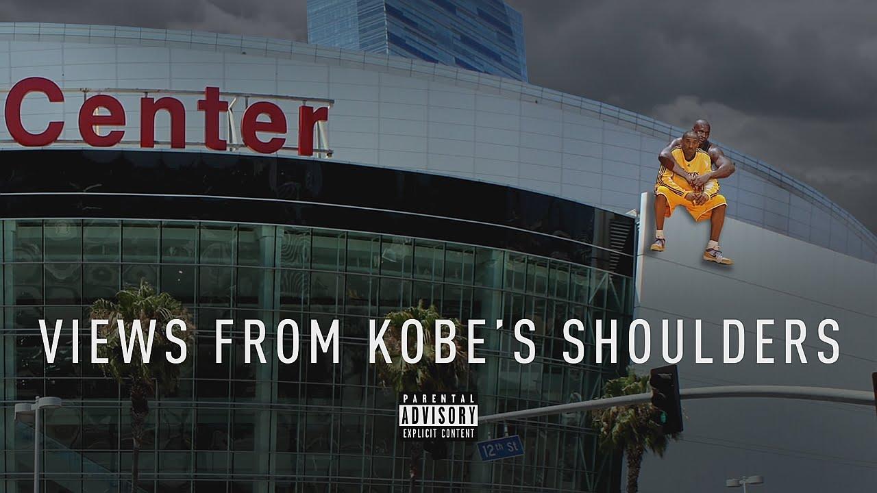 Shaq walks off set over Kobe Bryant shoulder