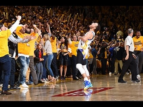 Steph Curry nails the dagger to send the Warriors to NBA Finals