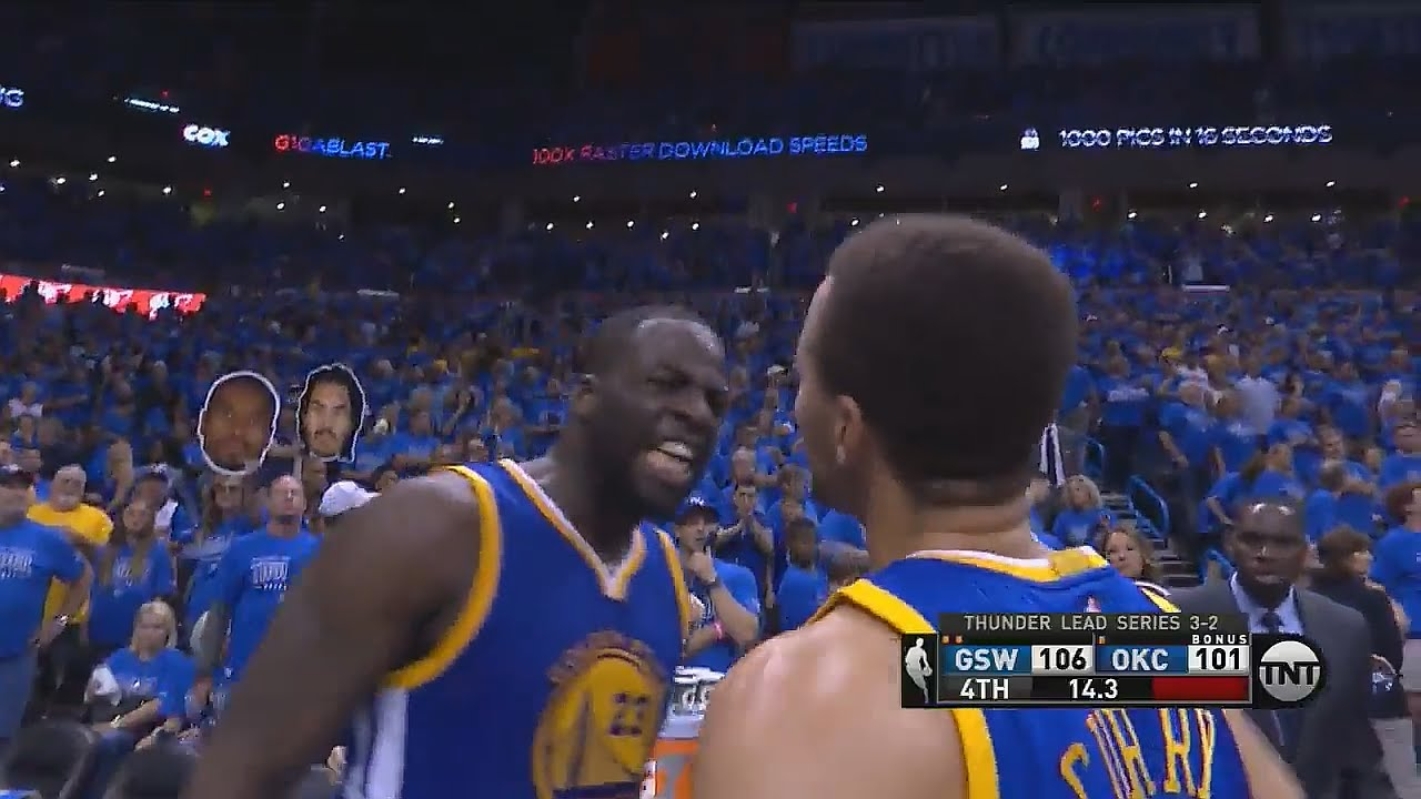 Steph Curry seals a Game 7 in Oakland