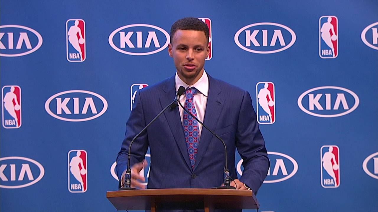 Stephen Curry full MVP acceptance speech