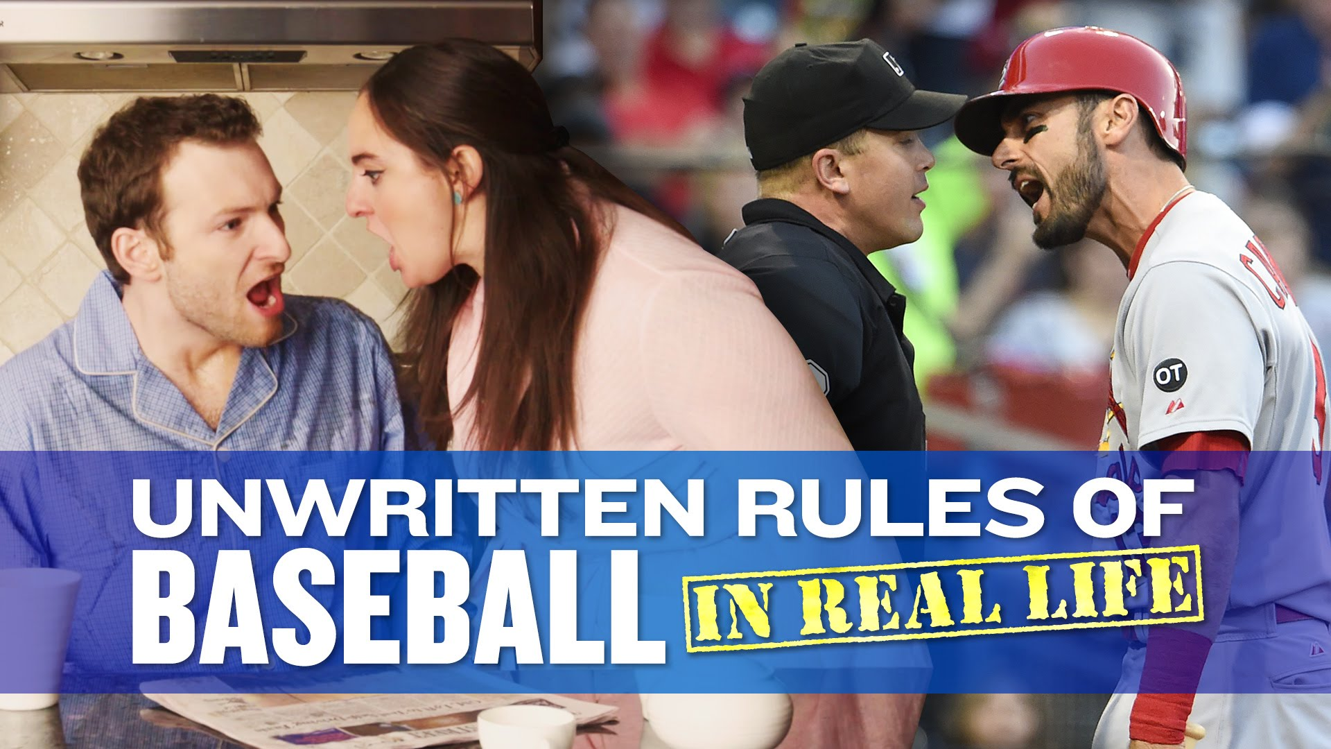 The Unwritten Rules of Baseball in Real Life