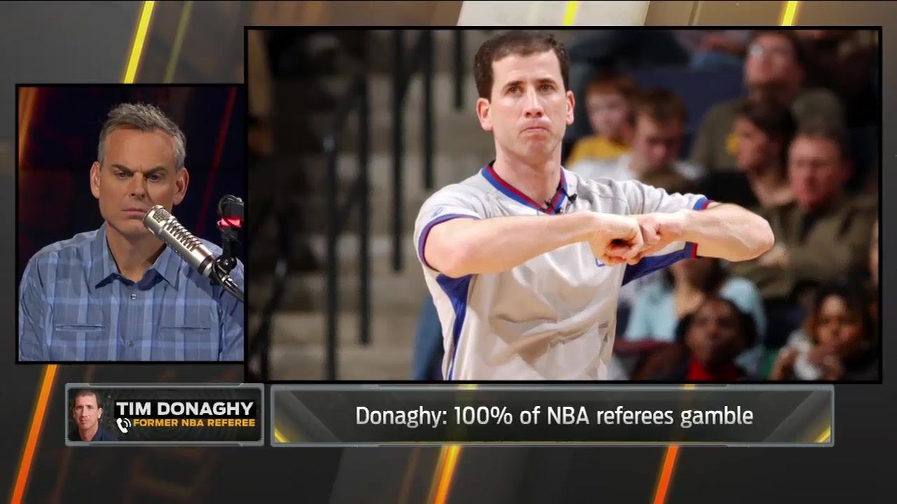 Tim Donaghy says 100 percent of NBA referees gamble