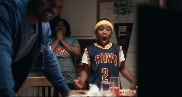 Nike releases new commercial right after the Cavs won