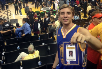Fanatics View Words: Photoshop skills got this lucky Warriors fan to Game 7
