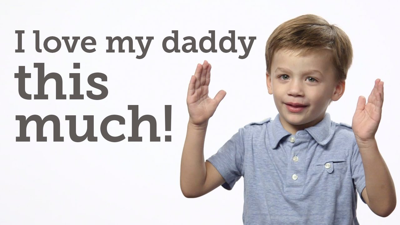 Adorable kids of NFL Stars talk about their Dads for Father's Day