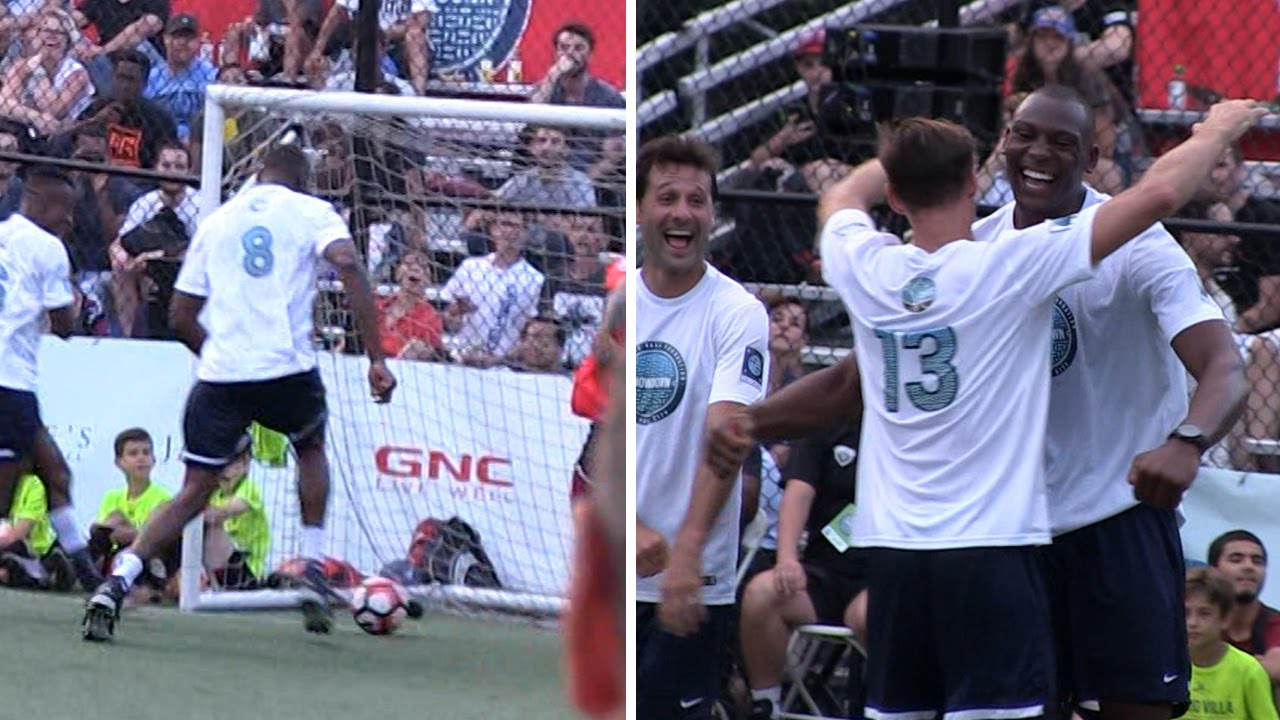 Bismack Biyombo takes over charity soccer game