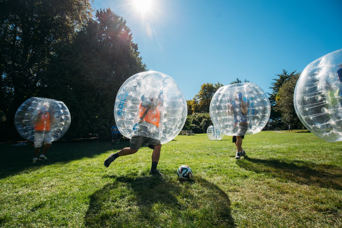 The History of Bubble Soccer