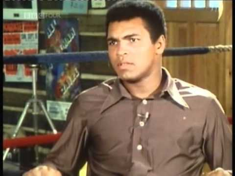 David Frost interviews Muhammad Ali before The Rumble in the Jungle