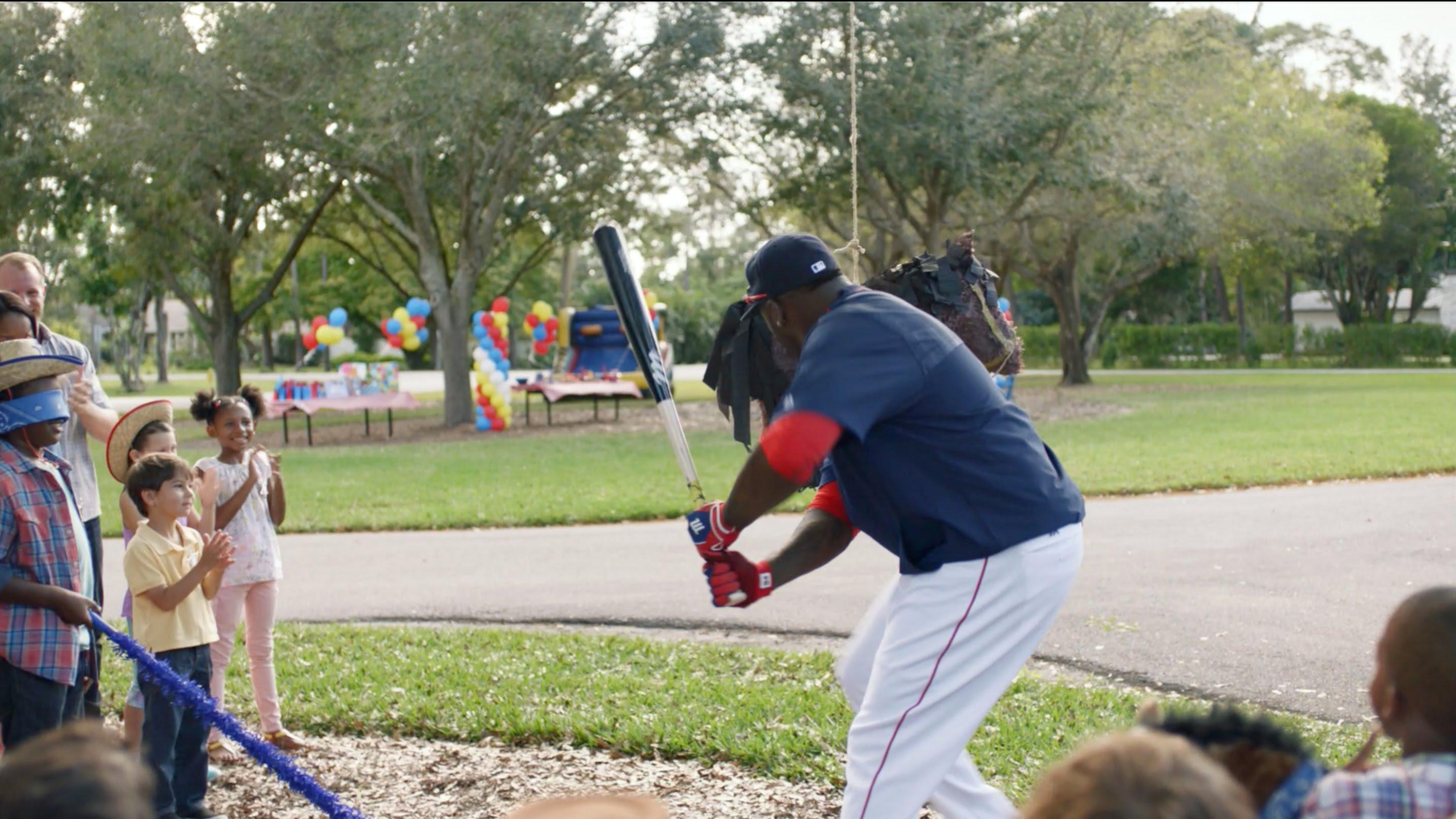 David Ortiz is the Piñata slayer