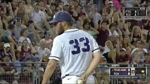 Texas A&M baseball fans chant