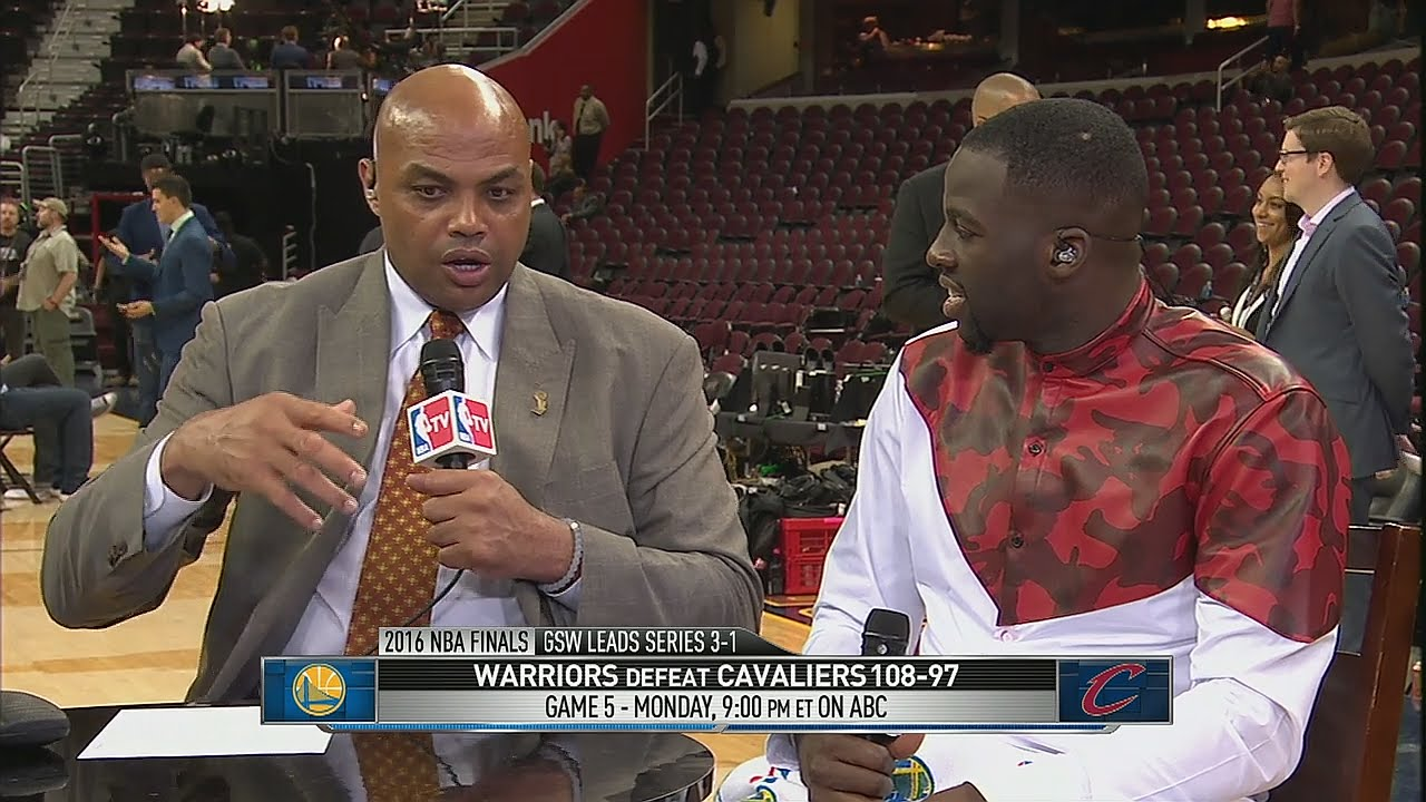 Draymond Green & Charles Barkley have a classic exchange