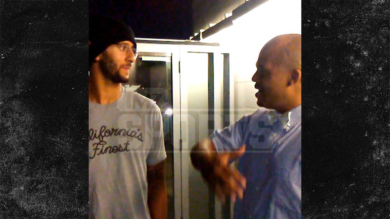 Fan corners Colin Kaepernick over Cam Newton comparison