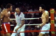 Rumble In The Jungle: George Foreman vs Muhammad Ali on Oct. 30, 1974 (Entire Fight)