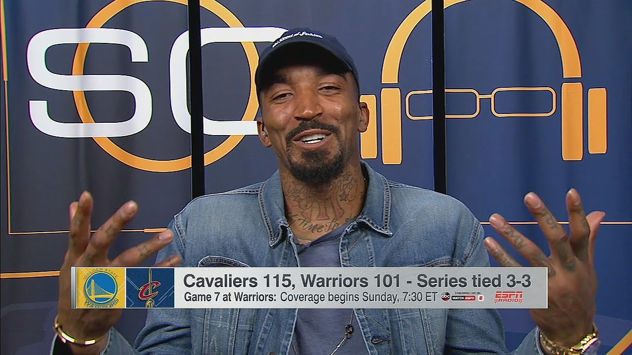 J.R. Smith laughs at his daughter's pregame comments