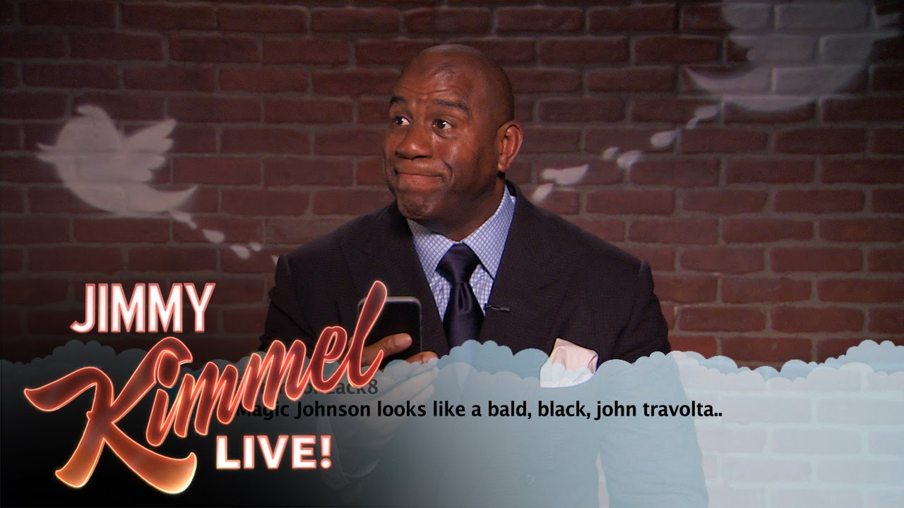Jimmy Kimmel's Mean Tweets - NBA Edition #4