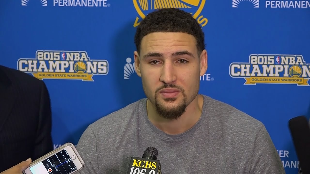 Klay Thompson bewildered by Game 7 loss in his exit interview