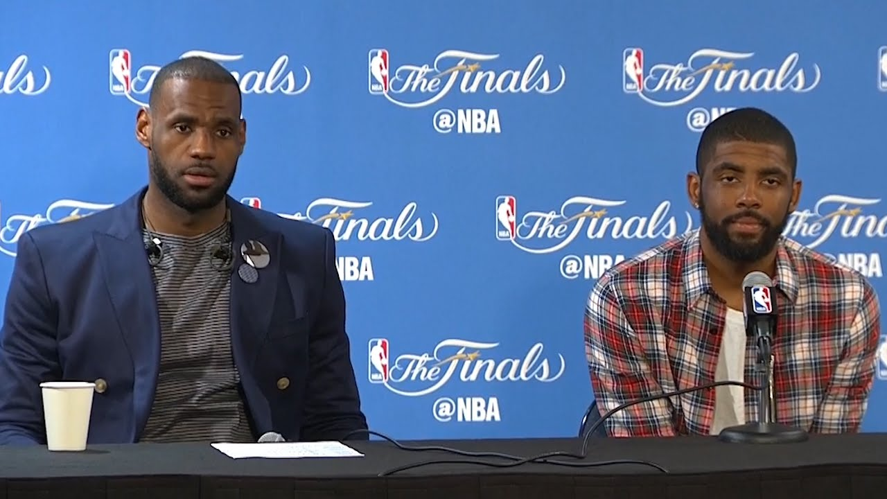 LeBron James & Kyrie Irving discuss forcing a Game 6