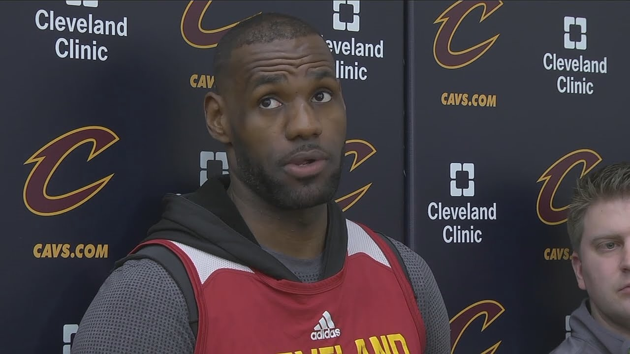 LeBron James not concerned with Las Vegas odds on NBA Finals