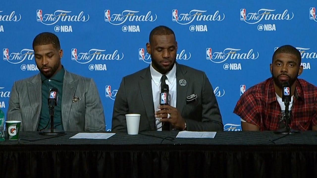 LeBron James post game press conference (Game 6 - NBA Finals)