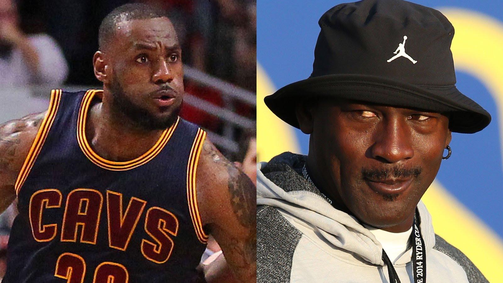 LeBron James responds to Phil Jackson's Michael Jordan comments