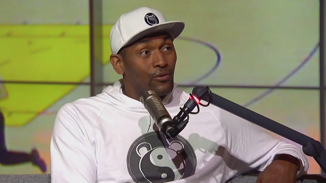 Metta World Peace says talking about a guy's family crosses the line