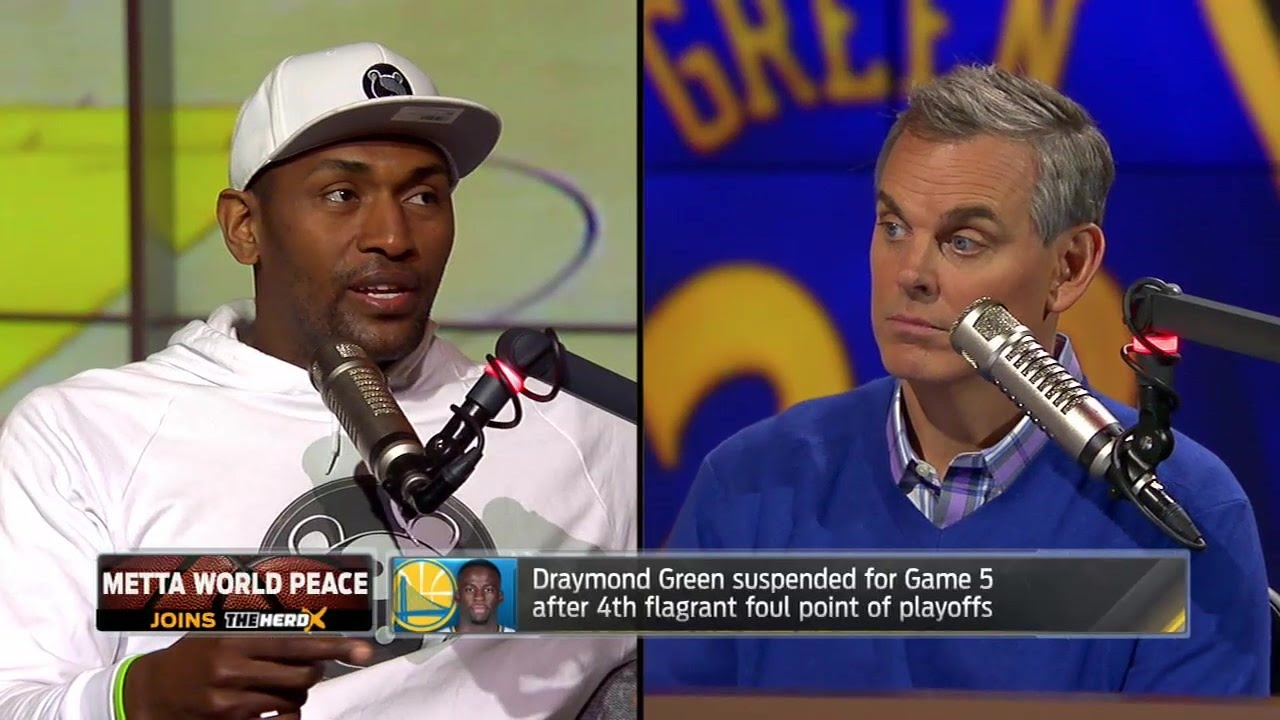Metta World Peace weighs in on the Draymond Green suspension