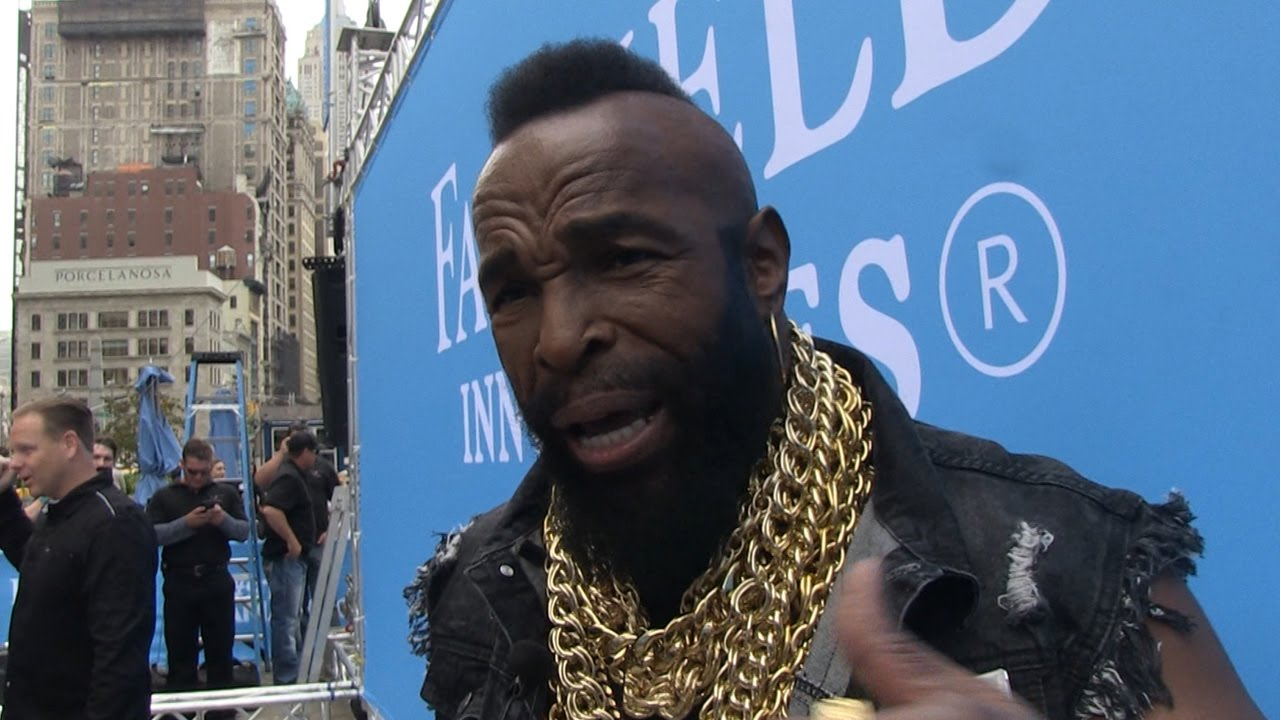 Mr. T says Muhammad Ali used to stop crimes