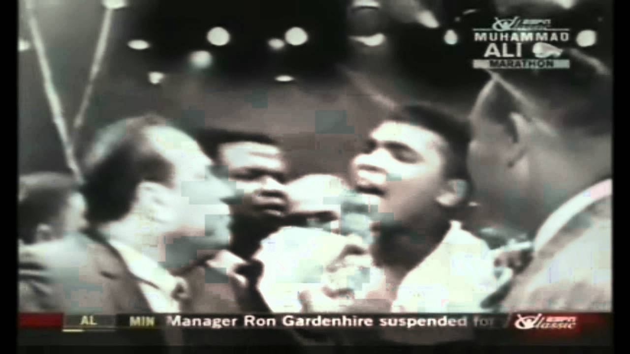 Muhammad Ali: I'm the King of the World