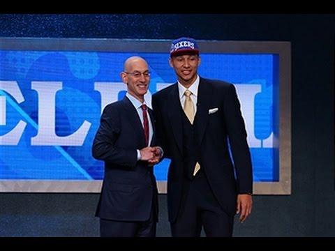 Philadelphia 76ers Draft Ben Simmons 1st Overall