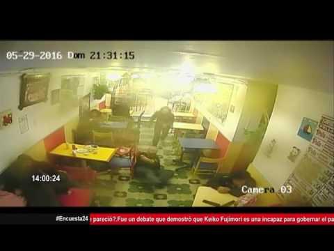 Raw Footage: UFC Fighter Valentina Shevchenko involved in shootout in Peru