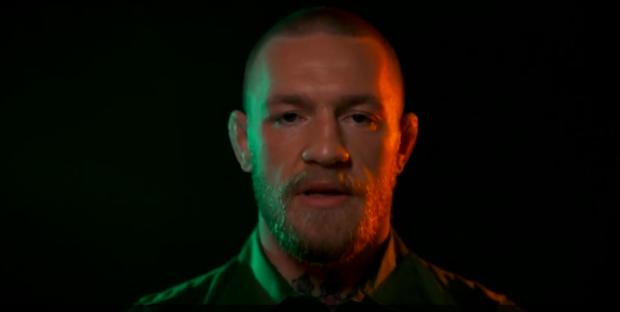 Conor McGregor gives Euro 2016 speech to Republic of Ireland