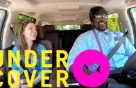 Shaquille O'Neal goes under cover driving with Lyft