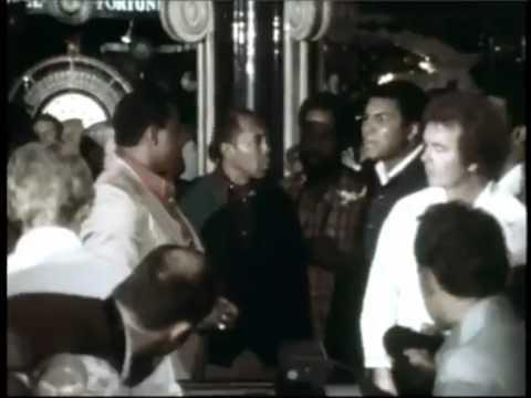 Sonny Liston fired a handgun at Muhammad Ali after trash talking