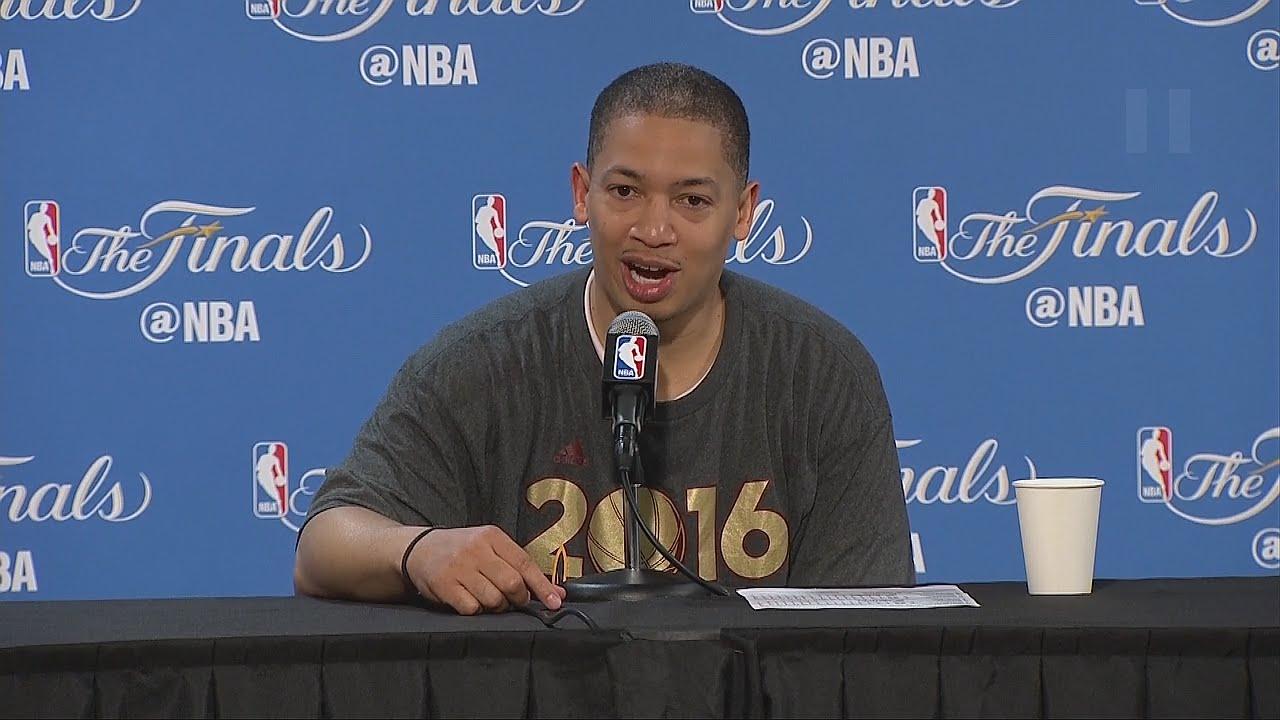 Tyronn Lue speaks on the Cavs winning an NBA Championship