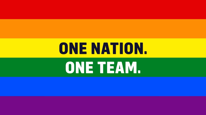U.S. men's soccer team shows support to Orlando
