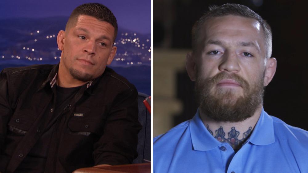Conor McGregor Calls Out Nate Diaz on Conan