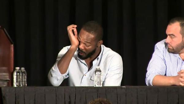 Jon Jones breaks down into tears over UFC 200 doping allegations