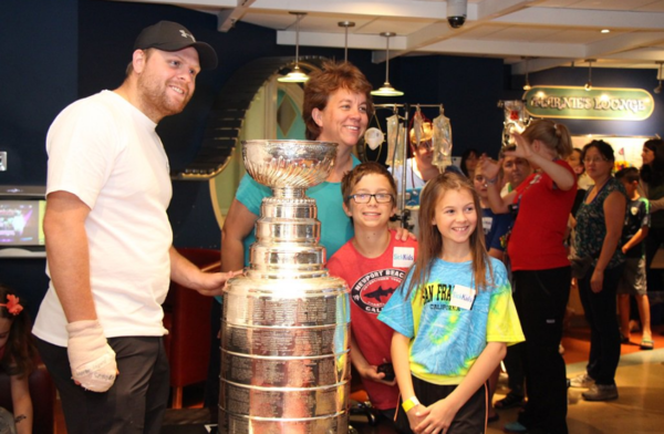 Fanatics View Words: Phil Kessel brings Stanley Cup to SickKids Hospital in Toronto